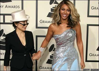 Yoko Ono and Beyonce