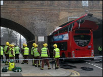 Bus crash - picture by Stephen Reynolds