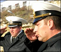 Ukrainian sailors