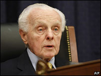 Tom Lantos in a file photo from June 2007