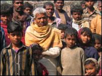 Uttar Pradesh villagers (Pic: Geeta Pandey)