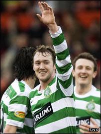 Celtic forward Aiden Mcgeady