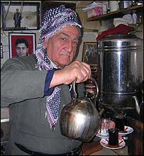 Teashop owner Khalil