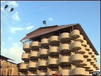 Гостиница в Басре, из которой были похищены журналисты