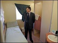 Kenny MacAskill at Cornton Vale