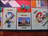 Dundee slot on Monopoly