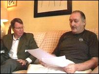 Dr Merrill Matthews and Robert Naether