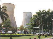 Indian nuclear power plant at Kakrapar