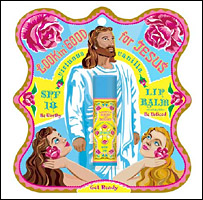 Lookin' Good For Jesus Lip Balm (Image: Blue Q)