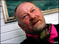 Kurt Westergaard, one of the cartoonists (15/09/2006)