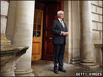 Алистер Дарлинг, министр финансов Великобритании