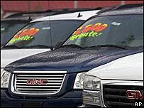 Venta de vehículos GM