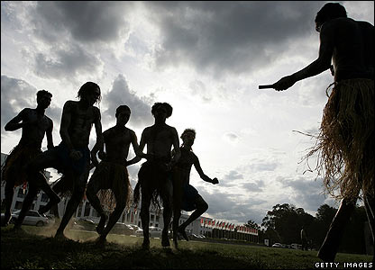 Aboriginal performers in Canberra