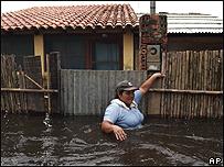 Inundaciones en la ciudad amazónica de Trinidad, capital del departamento del Beni, Bolivia, AP