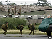 More Australian troops arrive in East Timor on 12 February 2008