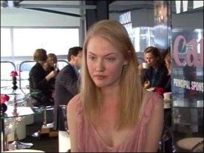 Swedish model Jessica Stenebo