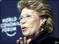 Viviane Reding, EU Commissioner