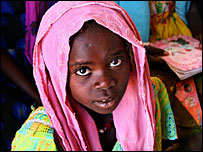 Thousands of Sudanese children have been killed, orphaned or forced to flee by the crisis in Darfur