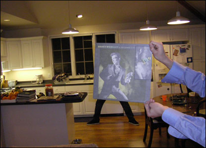 Bruce Woolley gets down in Jonah Kagan's kitchen
