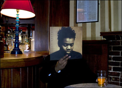 Ewan Jones Morris captures the moody elegance of this classic Tracy Chapman album cover