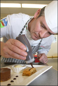 Neil Roberts (picture: Welsh International Culinary Championships)
