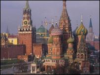 Кремль и собор Василия Блаженного