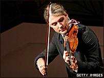 Imagen de archivo de David Garrett y su Stradivarius