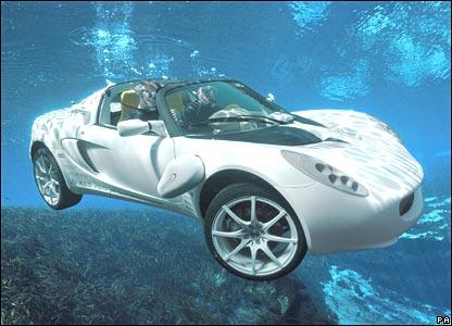 Submersible car