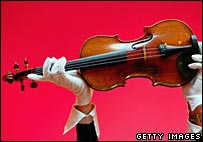 Stradivarius up for auction
