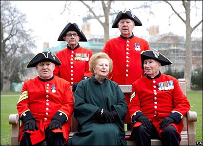 Ex-UK PM Baroness Thatcher