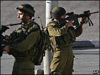 File photo of Israeli soldiers