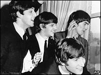 """""""Битлз"""" в Нью-Йорке в 1964 году"""