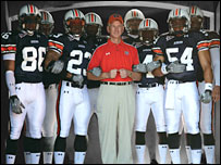 University of Auburn team