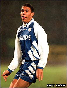 Ronaldo in action for PSV