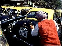 New Delhi taxis