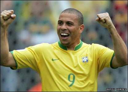 Ronaldo at the 2006 World Cup in Germany