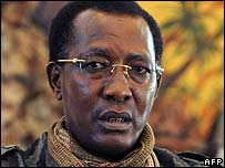 The president of Chad, Idriss Deby (6 February)