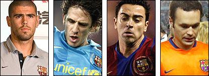 Barcelona's Catalan players