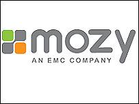 Mozy website