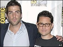 Zachary Quinto and JJ Abrams
