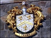 Trump coat of arms