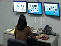 Cyberdoorman control room