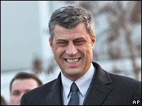 Kosovo's PM Hashim Thaci