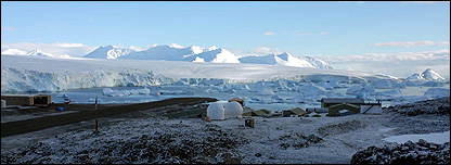 Rothera research station (BBC)