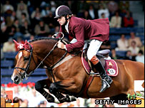 Arko III ridden by Nick Skelton