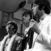 Ringo Starr, John Lennon and Paul