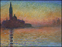 San Giorgio Maggiore by Twilight by Claude Monet (picture: National Museum)