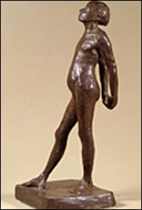Dressed Dancer in bronze by Edgar Degas (picture: National Museum)