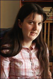 Ellie Harrison - photograph courtesy Peter Harrison