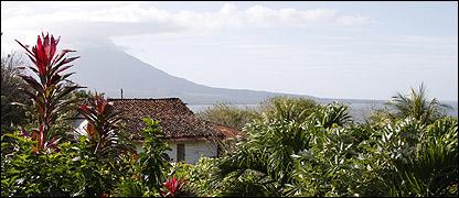Volcán Concepción, Isla de Ometepe, Nicaragua. Foto: Manuel Toledo, BBC Mundo